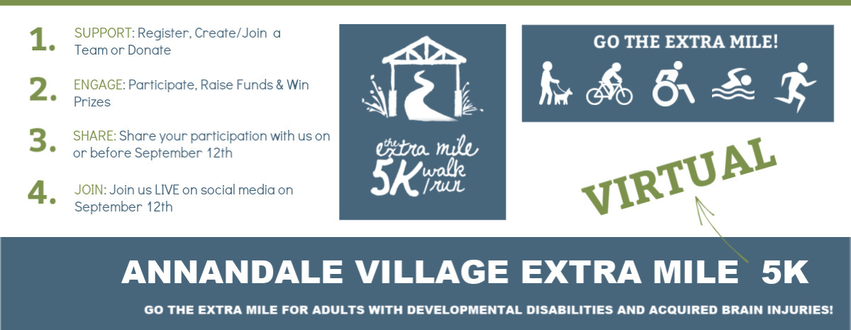 Annandale Village Extra Mile Virtual 5K Walk/Run 2020